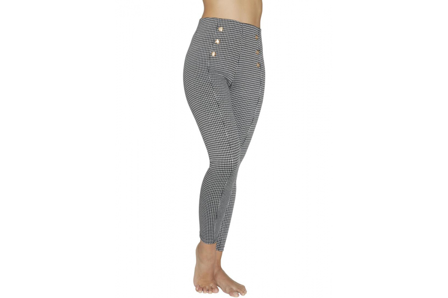 LEGGINGS PUSH UP, ESTAMPADO PATA DE GALLO, YSABEL MORA.